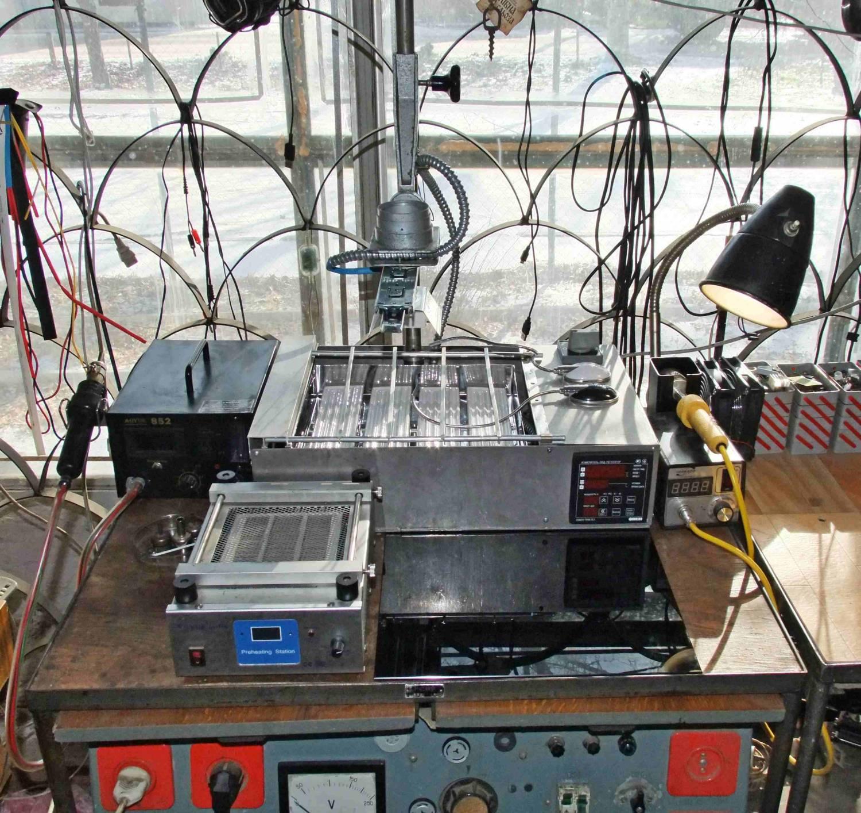 ИК паяльная станция: создаём своими руками * VLab